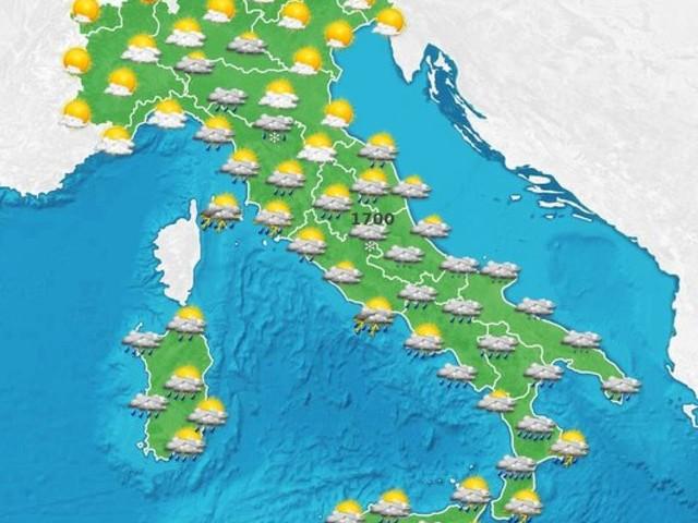 Meteo Italia: nuove perturbazioni in arrivo, ancora maltempo
