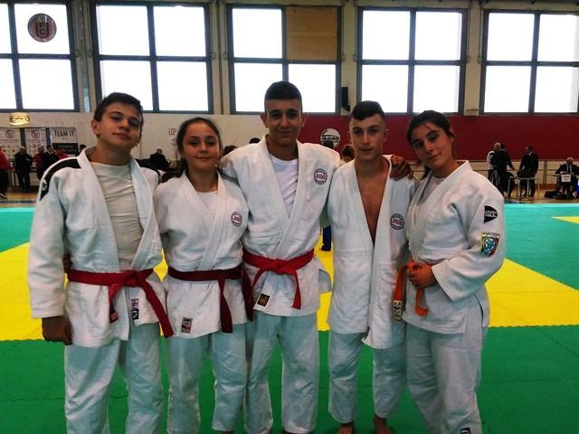 Judo Kodokan Gubbio protagonista a Bologna con 6 medaglie