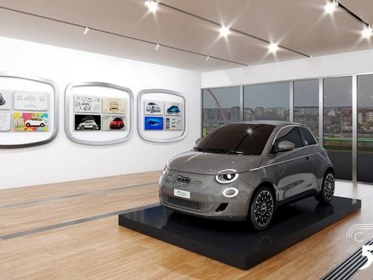 Un 'tempio' per i 63 anni della Fiat 500, nasce Virtual Casa