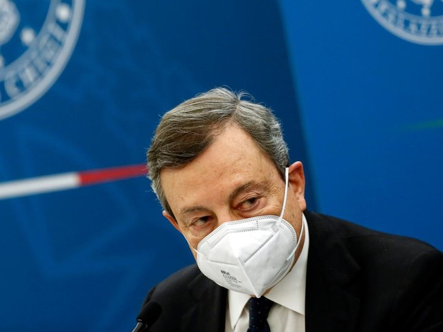 """Vaccino Covid, Draghi: """"Con che coscienza si saltano liste?"""""""