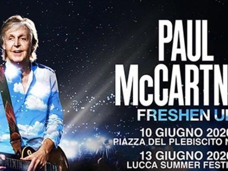 Paul McCartney torna in Italia con due date, ecco dove e quando