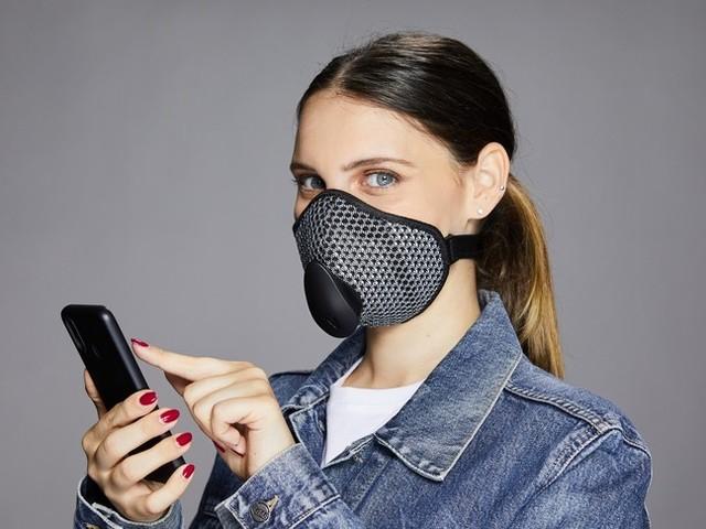 La mascherina che dice com'è la qualità dell'aria