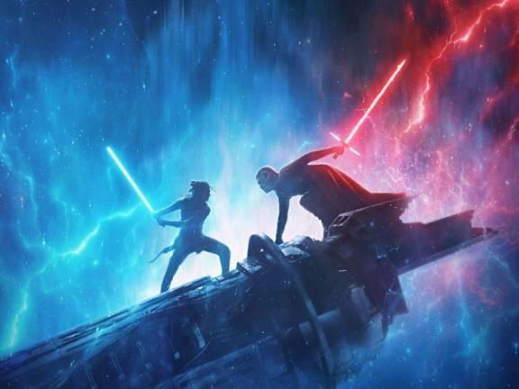 Star Wars: L'Ascesa di Skywalker, foto dal Millenium Falcon