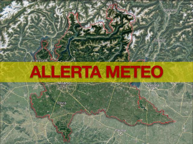 Allerta Meteo Lombardia: piogge e temporali fino a venerdì, a Milano attivato il Coc