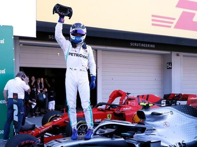 Festa Mercedes in Giappone: il Mondiale costruttori è suo. A Suzuka vince Bottas davanti a Vettel
