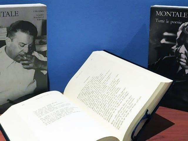 #SpecialeMERIDIANI - Festeggiamo i 50 anni dei Meridiani sfogliando il volume di Eugenio Montale
