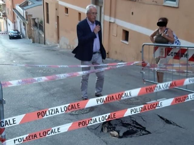 Maltempo Chieti: si aprono altre buche in strada