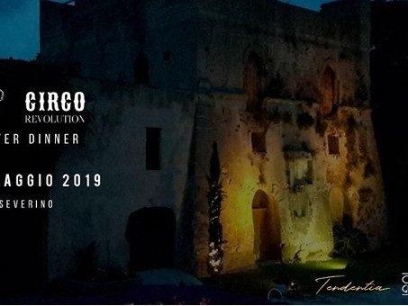 Il 24 maggio folle del Circo Nero Italia con Switch, alla Torre San Severino dinner e after dinner su ORadio