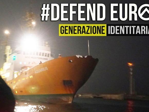 Migranti, la nave anti-Ong di «Generazione identitaria» è già un caso politico
