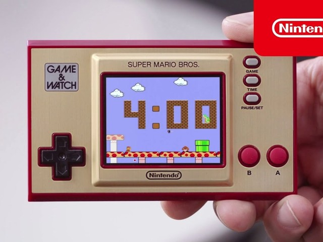 Pokémon, Zelda e non solo in azione su Game & Watch - Super Mario Bros