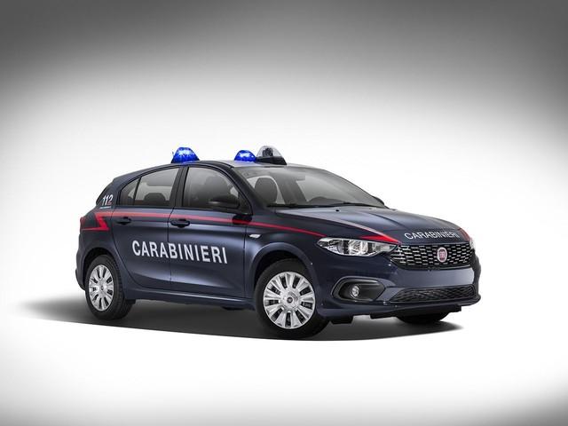Carabinieri - Anche la Fiat Tipo si arruola nell'Arma