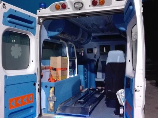Frigo in fiamme sul camper In ospedale due turisti