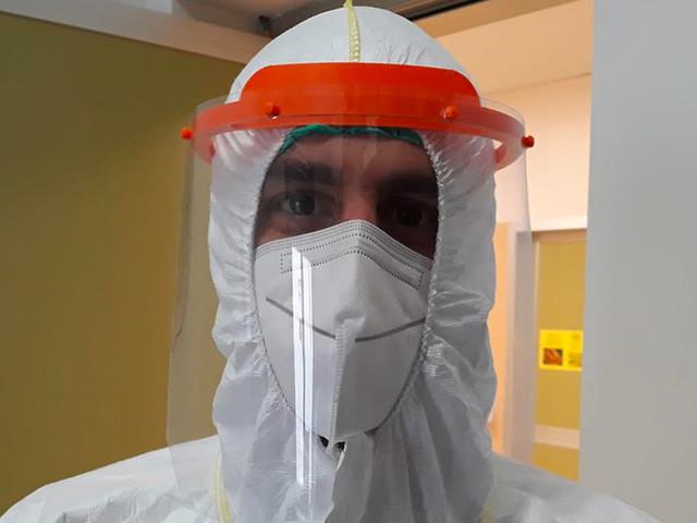 Coronavirus, PMopenlab consegna i primi 12 visori al Gom di Reggio Calabria