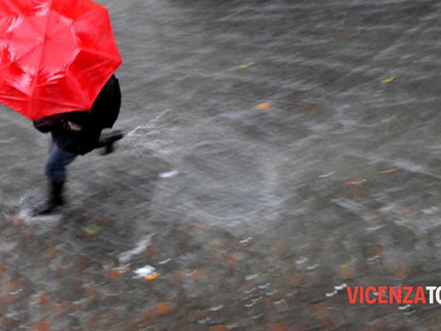 Maltempo, attesi pioggia e temporali: dichiarato lo stato di allerta in Veneto