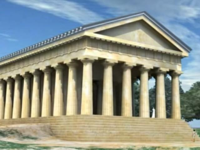 Esposta la testa di cavallo del tempio di Hera Lacina