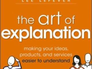 Spiegare è un'arte