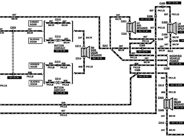 Ford E350 Radio Wiring Diagram