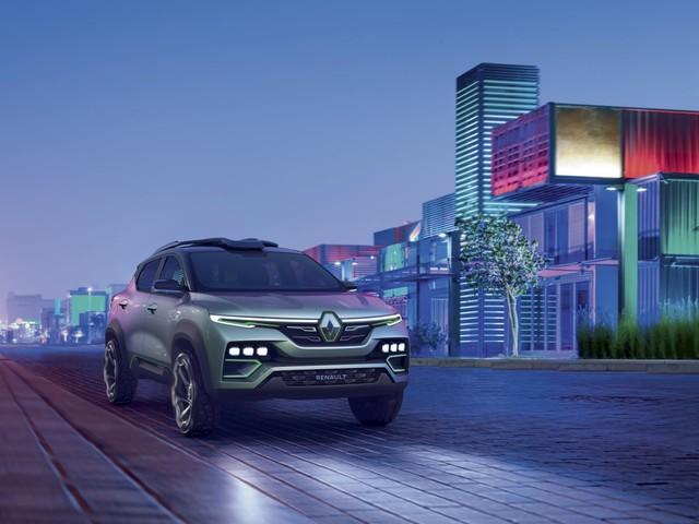 Renault Kiger show-car, un Suv inedito per l'India