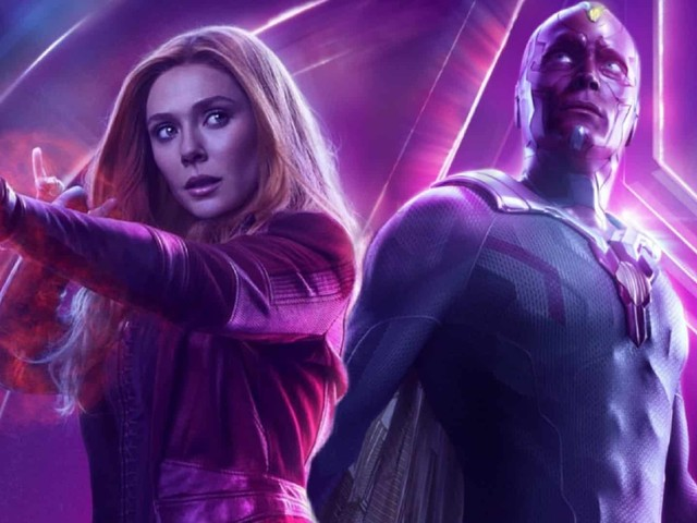 WandaVision: Elizabeth Olsen e Paul Bettany sfoggiano i loro nuovi look nella prima immagine!