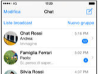 WhatsApp Messenger l'app si aggiorna alla vers 2.21.181