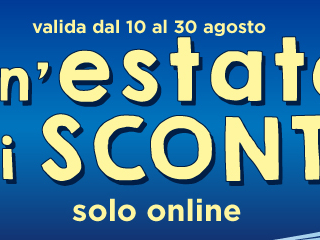Un'estate di sconti sul sito internet Euronics.it fino al 30 Agosto
