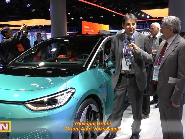Giovanni Grioni di Grioni Auto Volkswagen all'inizio della nuova era Volkswagen