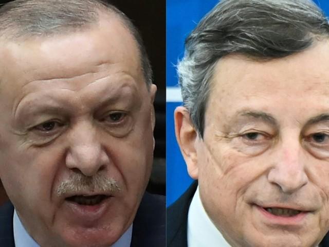 """Erdoganaccusa Draghi: """" Le sue parole come un'ascia tra le nostre relazioni"""""""