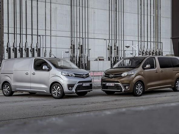 Toyota Proace Electric, autonomia fino a 330 km
