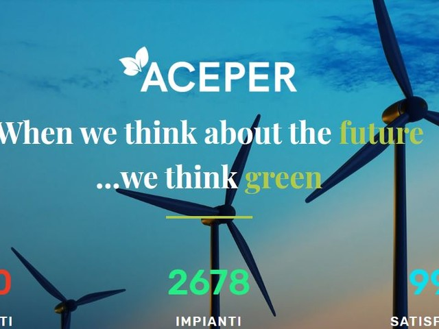 Rinnovabili, Aceper: «Legittimo il cumulo Tremonti ambiente-conto energia»