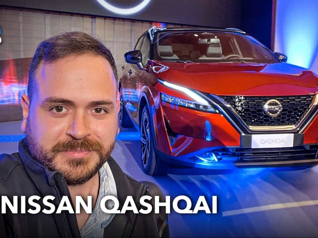 Nuova Nissan Qashqai, ecco com'è vista dal vivo