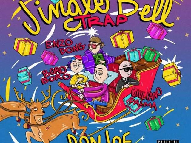 Don Joe – Jingle Bell Trap (Versione 1) con Giuliano Palma & Enzo Dong feat. Boro Boro: audio e testo