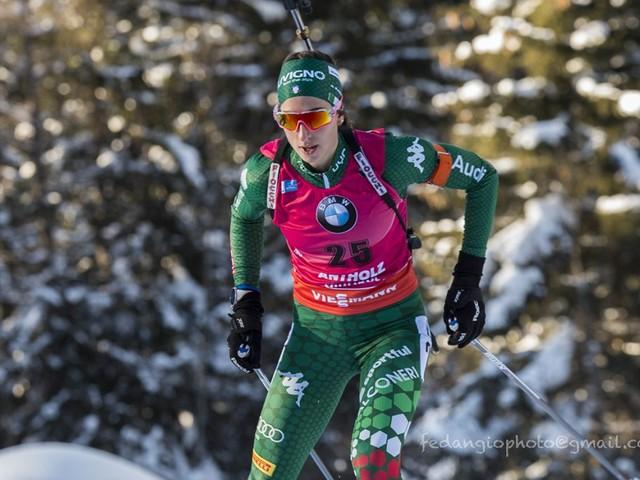 """Biathlon, Lisa Vittozzi: """"Ho sognato la Coppa del Mondo, è una vittoria solo rimandata"""""""