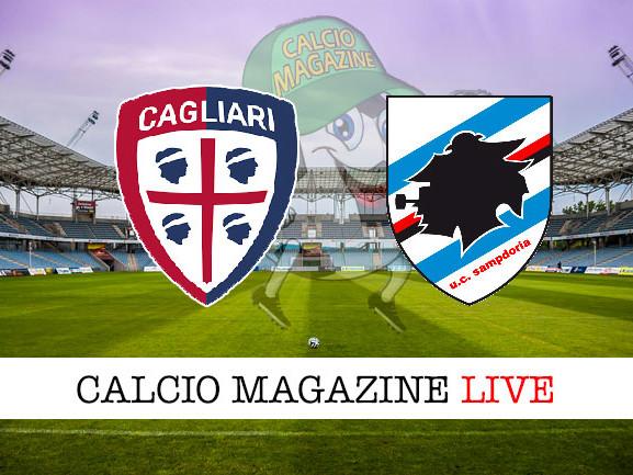 Cagliari – Sampdoria 4-3, il tabellino