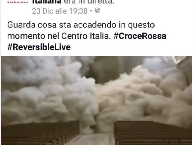 Comune di Assisi e Croce rossa alle carte bollate: «Rimuovete il video sul sisma del '97»