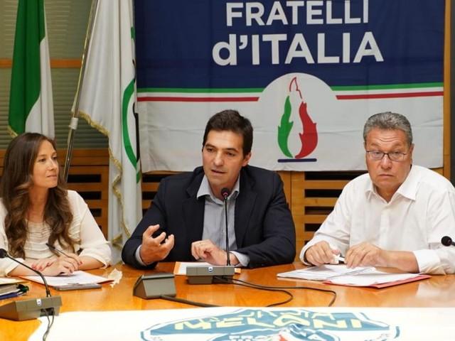 """Elezioni regionali Marche, Fratelli d'Italia: """"Siamo la locomotiva del cambiamento"""""""