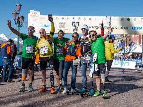 Grande successo per la Disabili No Limits alla Venicemarathon