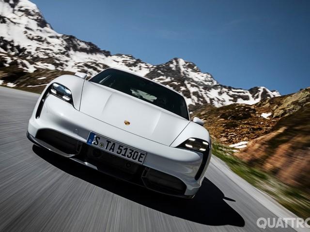 Porsche - Aumenta la capacità produttiva della Taycan