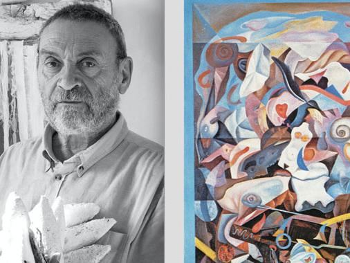 Fabrizio Merisi, l'antologica al Museo Diotti inaugura sabato pomeriggio