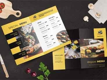 36 Creative Menu Layout Ideas for Restaurant Menu Templates