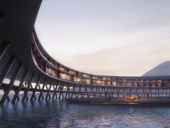 L'hotel sul circolo polare che produce più energia di quanta ne consumi
