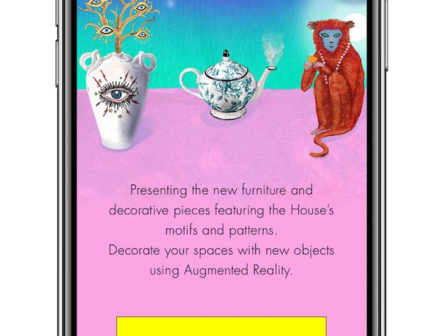 Moda e realtà aumentata. Gucci introduce una app per il lancio della nuova linea di design Décor