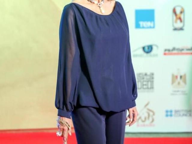 Barbara Bouchet premiata ad Assuan