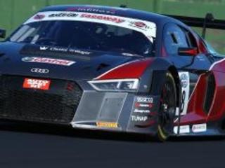 Finisce troppo presto la gara a Vallelunga per l'Audi R8 LMS