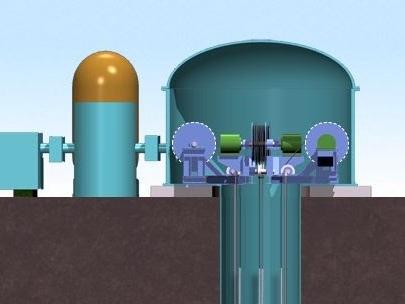 Un pratico sistema meccanico flessibile per immagazzinare energia