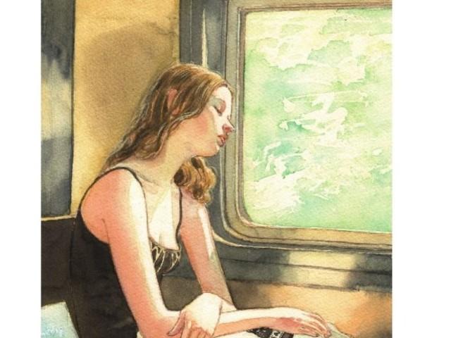 """Il romanzo della rinascita, """"Lascia che le cose accadano"""" di Ksenija Stojic."""