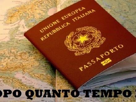 Dopo quanto tempo è pronto il passaporto?