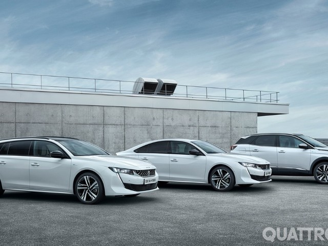 Peugeot - Nel 2019 le 3008 e 508 ibride plug-in