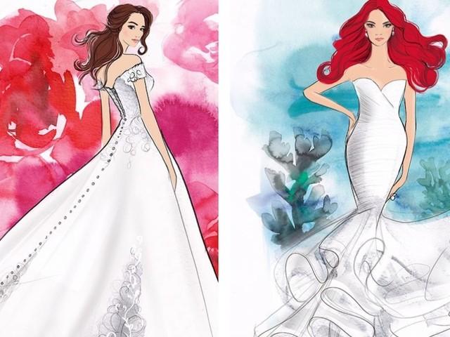 Sposarsi vestite da principessa? Ora è possibile, gli abiti li firma la Disney
