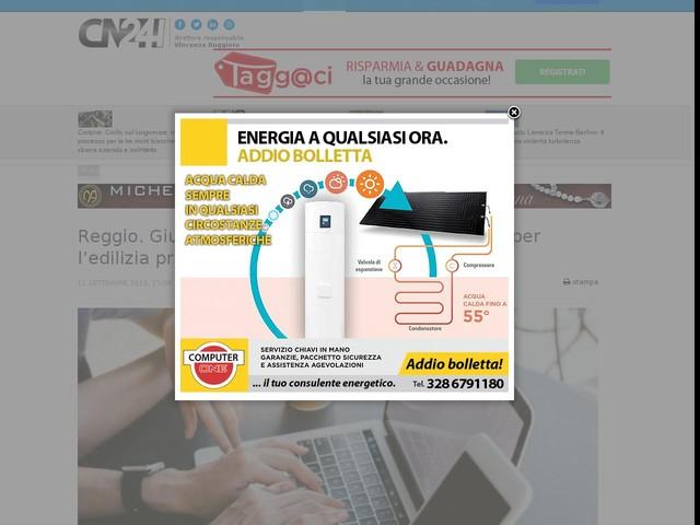 Reggio. Giunta vara le istanze di digitalizzazione per l'edilizia privata