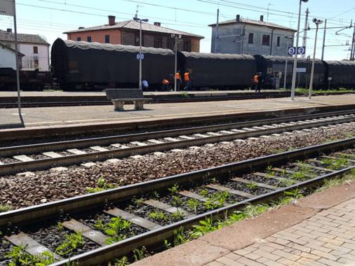 Carro bisarca deraglia a Piadena Drizzona: secondo episidio simile in tre mesi